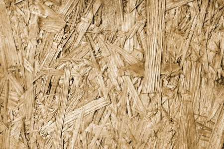 osb: Old vintage sawdust board background texture Stock Photo