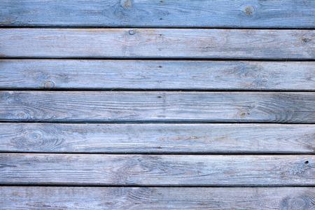 古い木製青塗装板背景テクスチャ 写真素材
