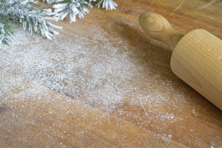 backing: Abstract christmas food backing and cooking background Stock Photo