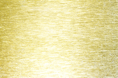 detailed view: Golden metal brass scratched background texture
