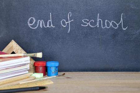 学校暑假营地的结束