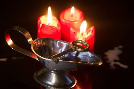 Divination and pouring wax