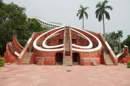 Jantar Mantar astronomy observatory in New Delhi