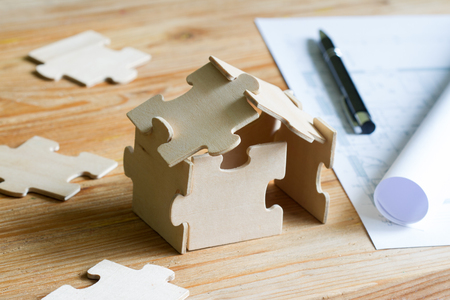 House with puzzles and planning costs
