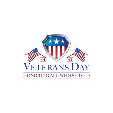 design veterans day vector template