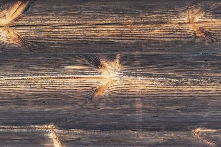 Texture image of old wooden planks destroyed by time