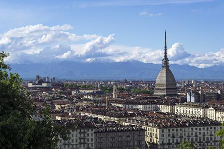 Turin Mole Antonelliana Standard-Bild