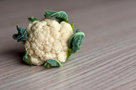 head of cauliflower: Little cauliflower Stock Photo