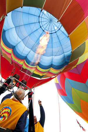 A Hot Air Balloon burners photo
