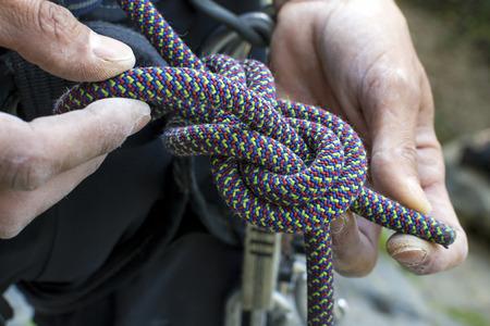 figure eight knot re-threaded Standard-Bild