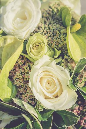 wedding vintage bouquet photo