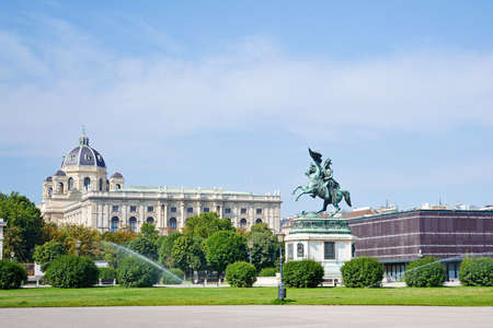 Monument to Archduke Charles in Vienna, Austria