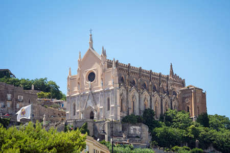 The Church of San Francesco D'Assisi in Gaeta, Monte Orlando, Lazio, Italy