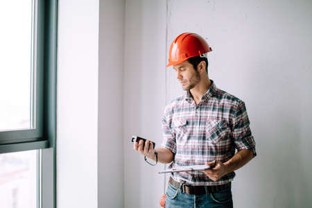 necessary measurements for building house. accurate calculations