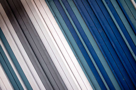 Seamless striped white, blue, grey color pattern