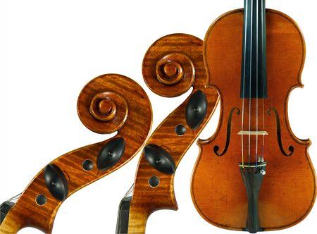 violin Standard-Bild