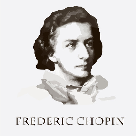 concerto: portrait of the composer and the musician Frederic Chopin