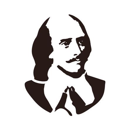 William Shakespeare - el famoso escritor Inglés, autor de obras de teatro