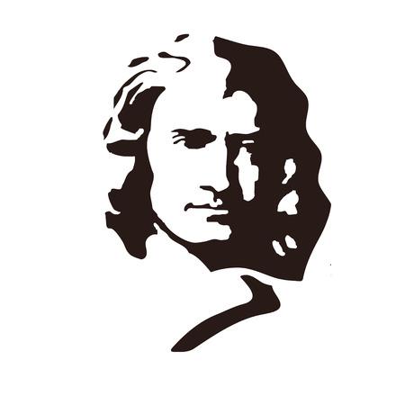 Sir Isaac Newton - Engels natuurkundige en wiskundige, een van de grondleggers van de klassieke natuurkunde.