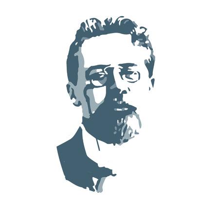 Anton Pavlovich Chéjov, el famoso escritor, autor de obras de teatro