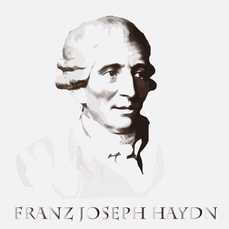 concerto: portrait of the composer and musician  Franz Joseph Haydn