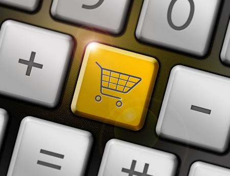 Shopping button on the keyboard