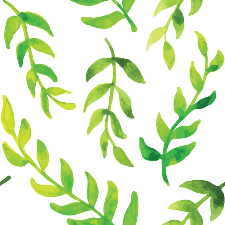 patterns vector: Vector seamless green pattern