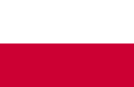 european culture: Flag of Poland vector