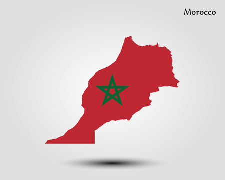 Map of morocco vector illustration world map royalty free 92701677 map of morocco vector illustration gumiabroncs Images