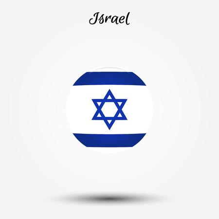 Flag of Israel icon. Vector illustration. World flag