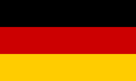 Flag of Germany. Vector illustration. World flag