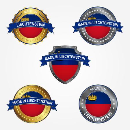 Design label of made in Liechtenstein