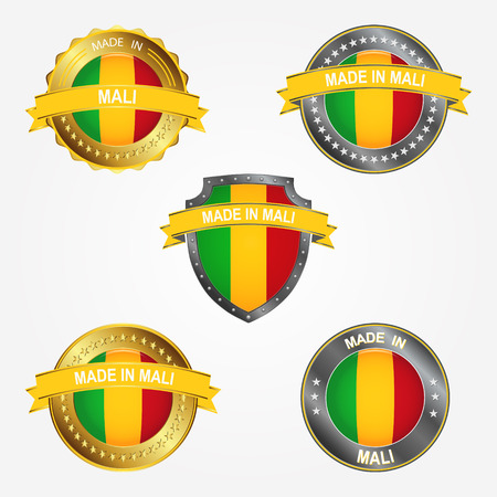 Design label of made in Mali
