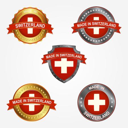Design label of made in Switzerland