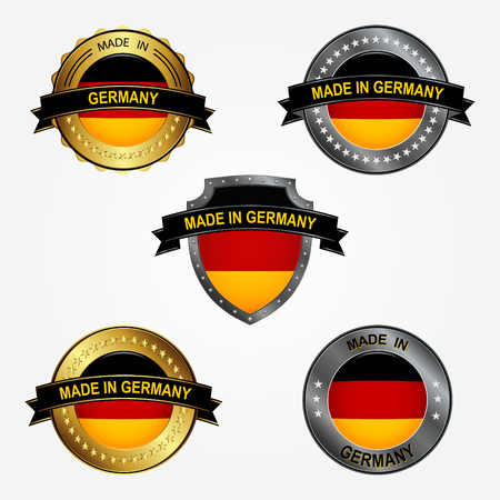 Design label of made in Germany