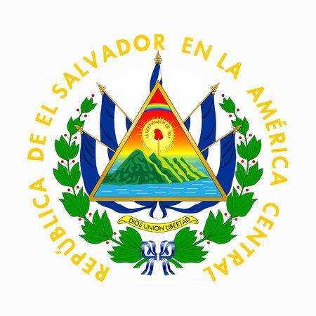 El Salvador Coat of arm
