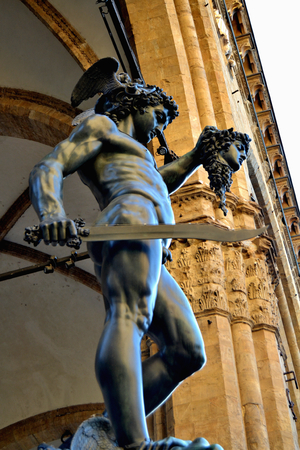 Perseus and Medusa, Benvenuto Cellini, Florence, Italy