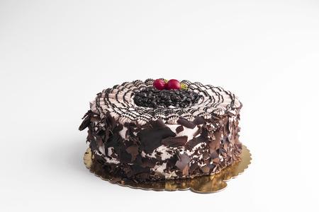 gateau: chocolate cake