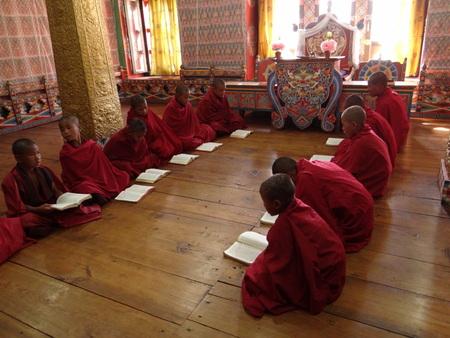 reciting: Monk