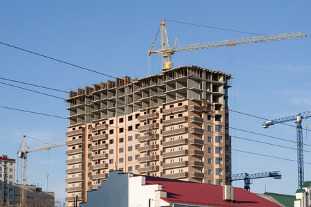building sector: Construction of a modern building in the private sector