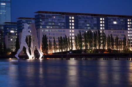 treptow: Molecule Man in Treptow in Berlin, Germany