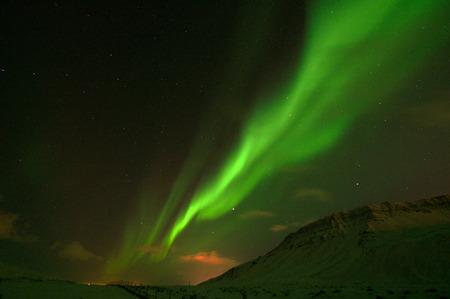 polar lights: Polar lights, photo taken in December at Iceland.