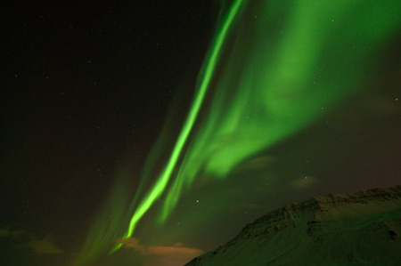 polar light: Polar lights, photo taken in December at Iceland.
