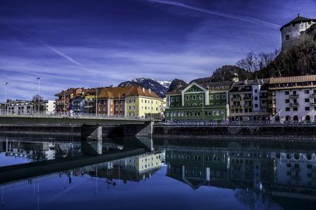 tyrol: Kufstein, Tyrol, Austria, photo taken in springtime. Stock Photo