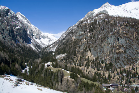 matrei: The Valley Dorfer is located west of Matrei at East Tyrol Austria.