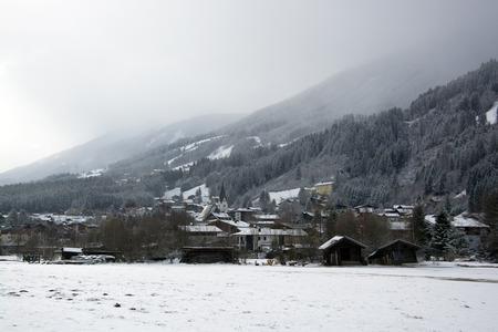 wildkogel austria: Neukirchen at the Pinzgau, a valley in the alps of the County Salzburg, Austria.