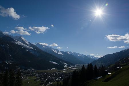 wildkogel austria: Pinzgau A valley in the alps of the County Salzburg Austria.