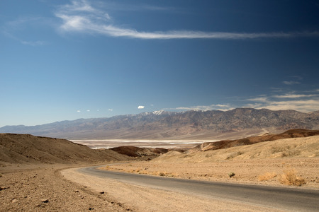 noted: Badwater Basin is a basin in Death Valley National Park California Noted as the lowest point in North America.