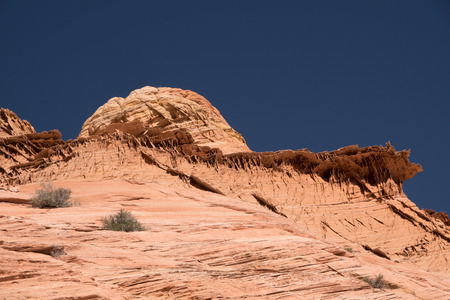 Edmaiers Secret are fields of socalled Brainrocks, they are located at Vermilion Cliffs Wilderness, Utah, USA. 스톡 콘텐츠
