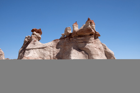 tuba: The socalled Blue Canyon is located south east of Tuba City in the Moenkopi Wash Arizona USA. Stock Photo